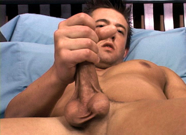Blake lives to play with his cock