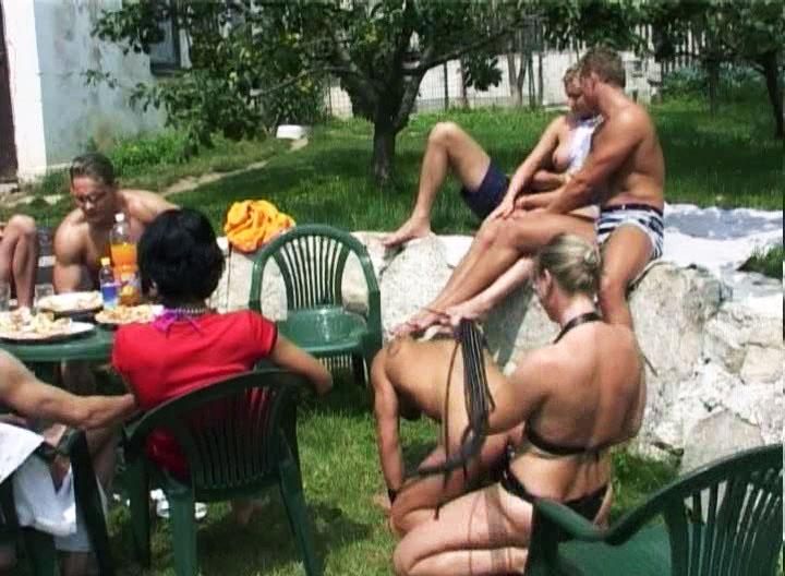 *Video:incredible group sex party where men fuck men as well