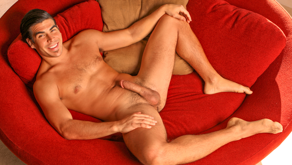 Red tube naked open legs man naked