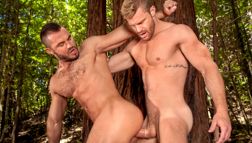 Jessy appears naked in the woods before a disoriented Landon