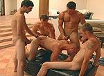 Patrick Rouge, Christian Wilde, Zack Cook gay jocks/frat boys video from Next Door Buddies