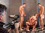 Jason Visconti, Jimmy Visconti, Joey Visconti, Giuseppe Pardi gay individual models video from Visconti Triplets