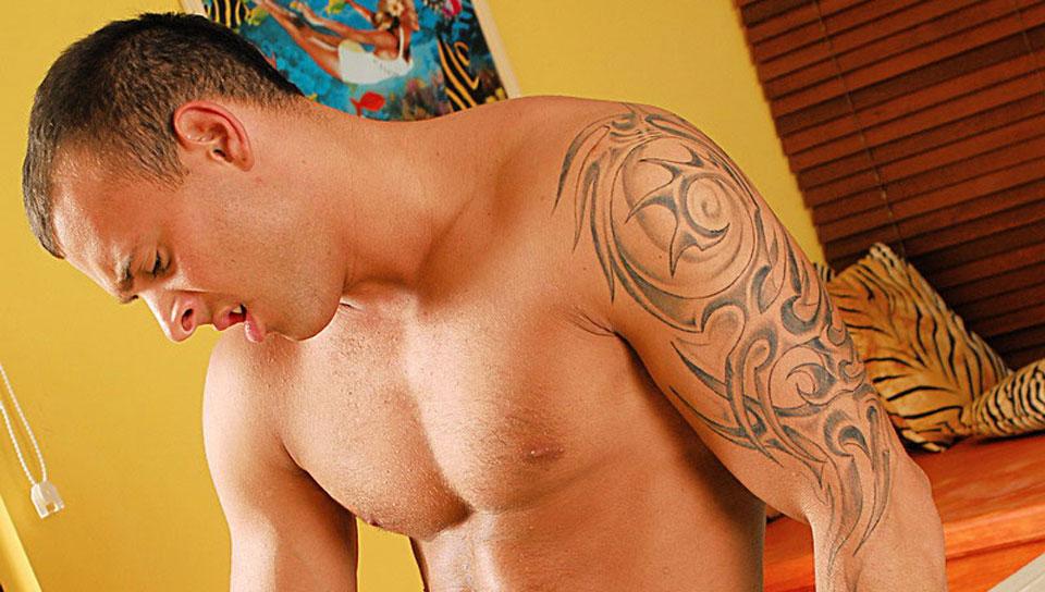 Jason Visconti gay individual models video from Visconti Triplets