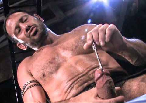 vibrating rod in my penis hole
