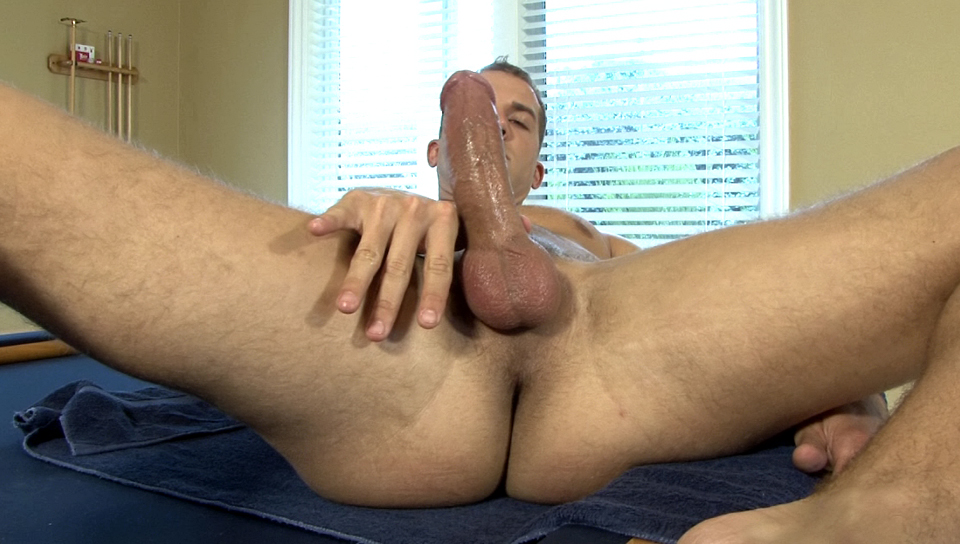M Brandon Lewis showing off his hot bod and lovely cock