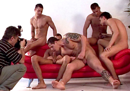 Jason Visconti, Jimmy Visconti, Joey Visconti gay individual models video from Visconti Triplets