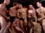 Clint Cooper, Chad Hunt, Logan Krewe, Robert Balint, Anthony Shaw, Eddie Moreno, Leo Bramm, Kyle Hardin, Roland Dane, Trey Rexx gay muscle video from Falcon Studios