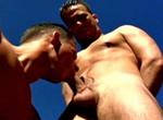 Ago Viara, Nathan Sommers gay muscle video from Falcon Studios