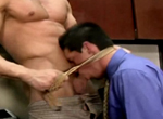 Erik Rhodes, Cal Skye gay muscle video from Falcon Studios