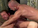 Josh West, Rick Powers gay muscle video from Falcon Studios