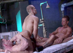 Erik Rhodes, Rod Daily, Ty Colt gay muscle video from Falcon Studios