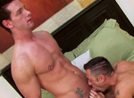 Tristan Phoenix, Luke Marcum gay muscle video from Falcon Studios