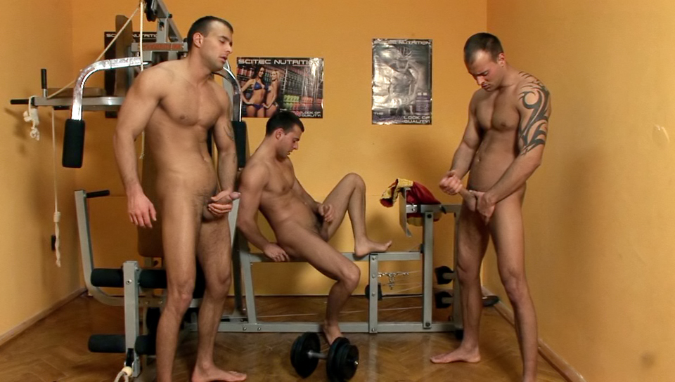 Gym Threesome Solo