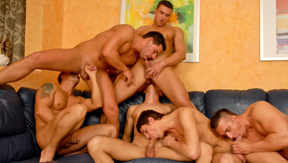 Mario Mcgabe, Claudio Antonelli, Chris Hacker gay all fetishes video from Scary Fuckers