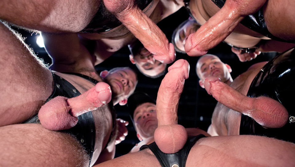 Shane Frost, Spencer Reed, Trevor Knight, Cole Streets gay dvd porn video from Hot House