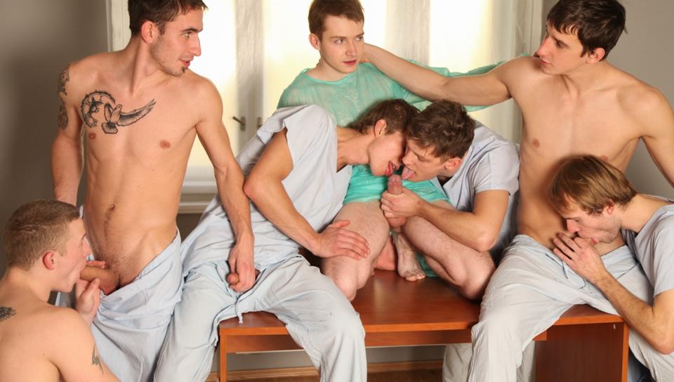 Bareback Hospital Orgy