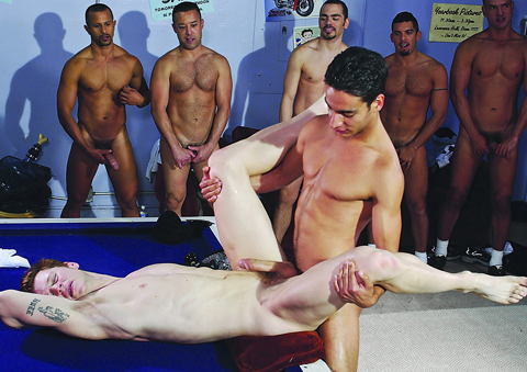 Ten Latin fellows Gangbang Josh Weston