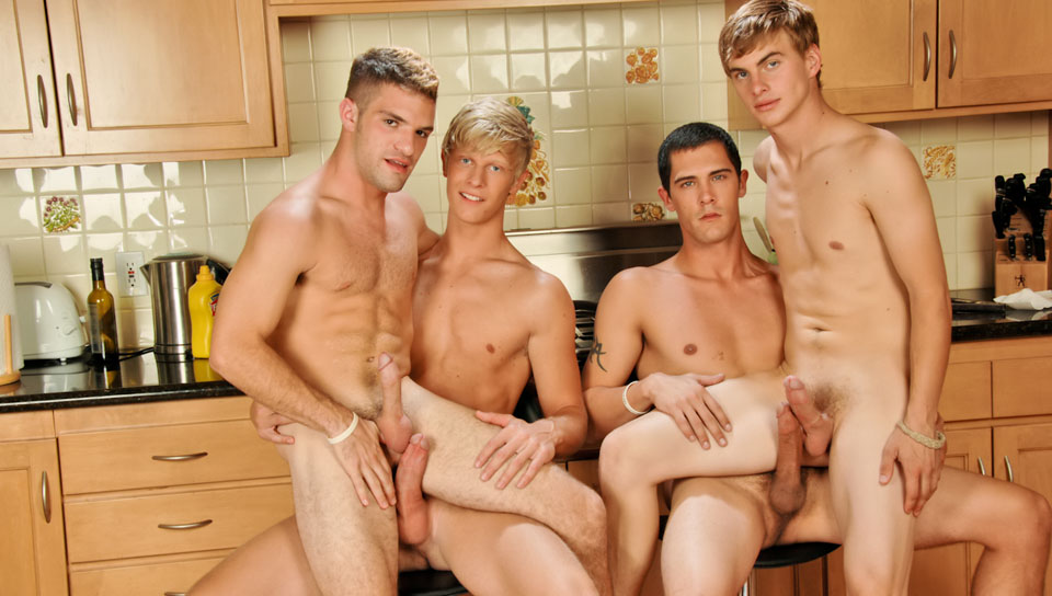 Adam Wirthmore, Alex Waters, Noah Brooks gay twinks 18+ video from Next Door Twink