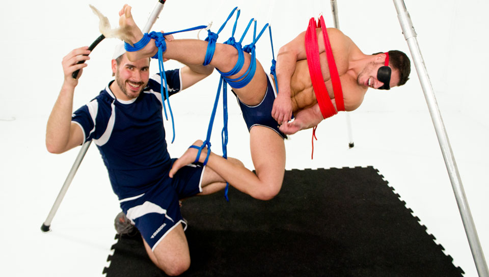 Marc Dylan gay bdsm video from Bound Jocks